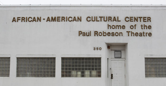 Paul Robeson Theatre at 350 Masten Ave in Buffalo,  Thursday, April 3, 2014.  (Sharon Cantillon/Buffalo News)
