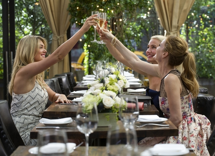 """From left, Kate Upton, Cameron Diaz and Leslie Mann play women on a mission in """"The Other Woman."""" (Associated Press)"""
