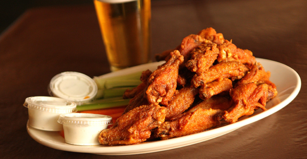 File photo of Buffalo wings from Doc Sullivan's on Abbott Rd. in South Buffalo from Jan. 4, 2013.  {Photo by Sharon Cantillon / Buffalo News}
