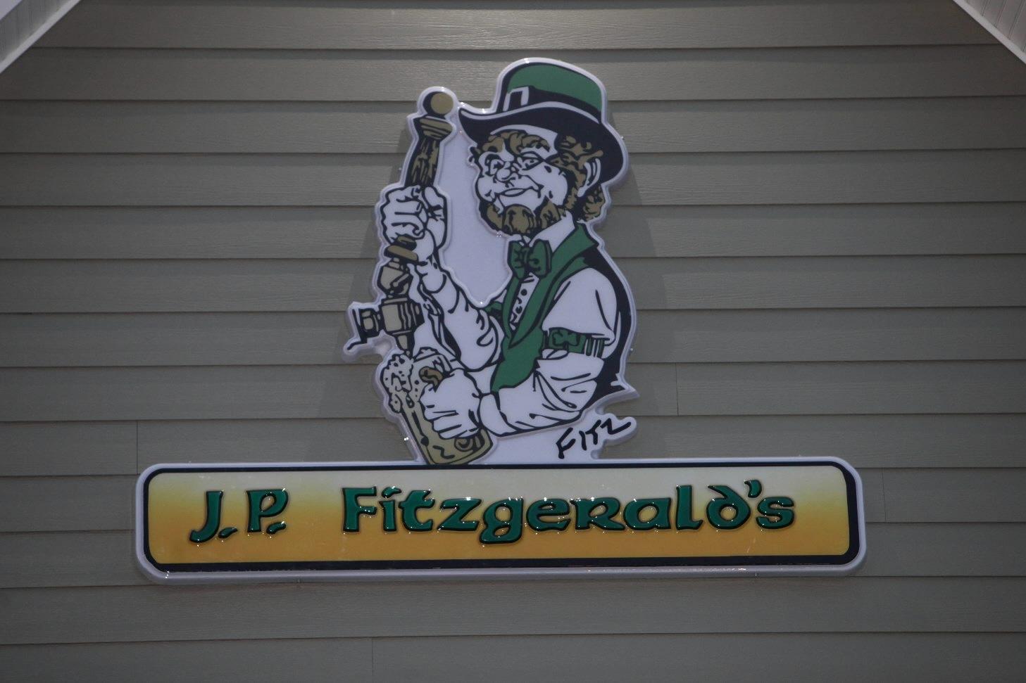 J.P. Fitzgerald's on Clark Street in Hamubrg.