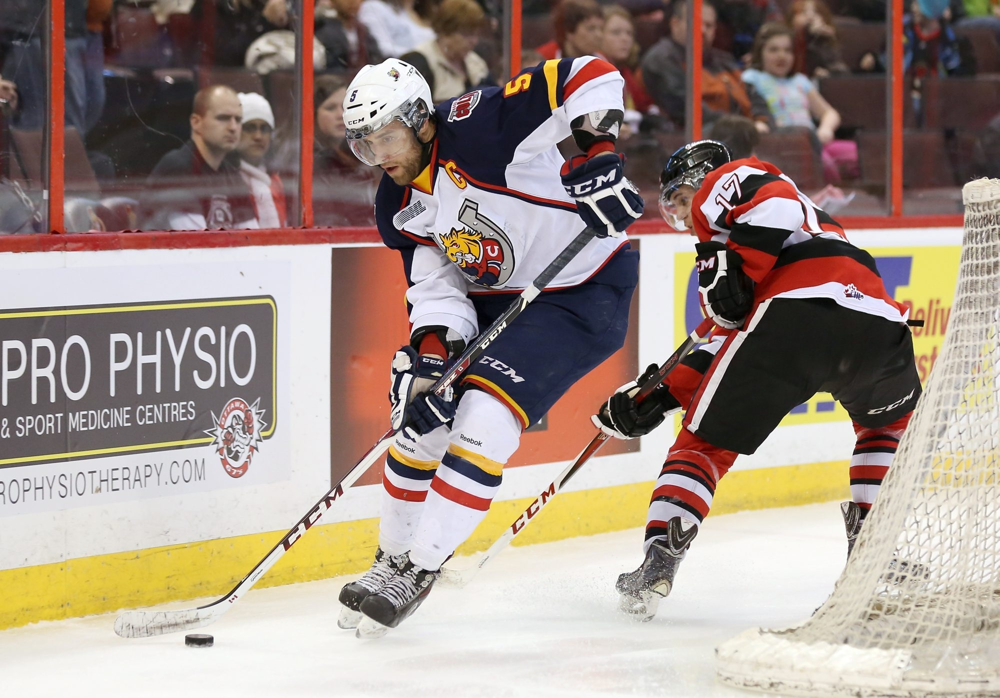 Defenseman Aaron Ekblad is considered by many the top pick in the NHL Draft and is expected to be drafted by Florida, unless the Panthers make a deal.