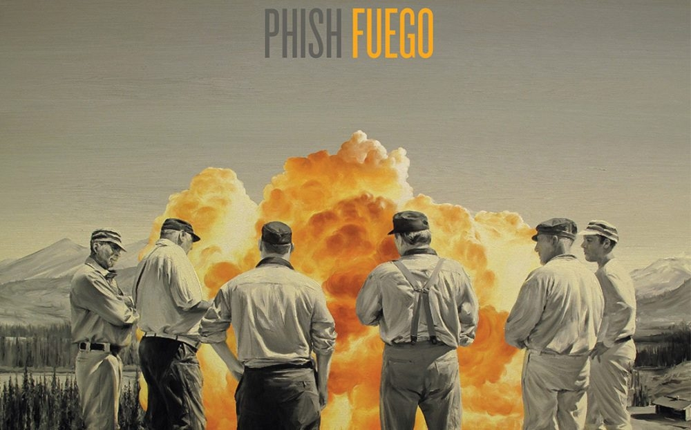 This CD cover image released by JEMP Records shows 'Fuego' by Phish. (AP Photo/JEMP Records)