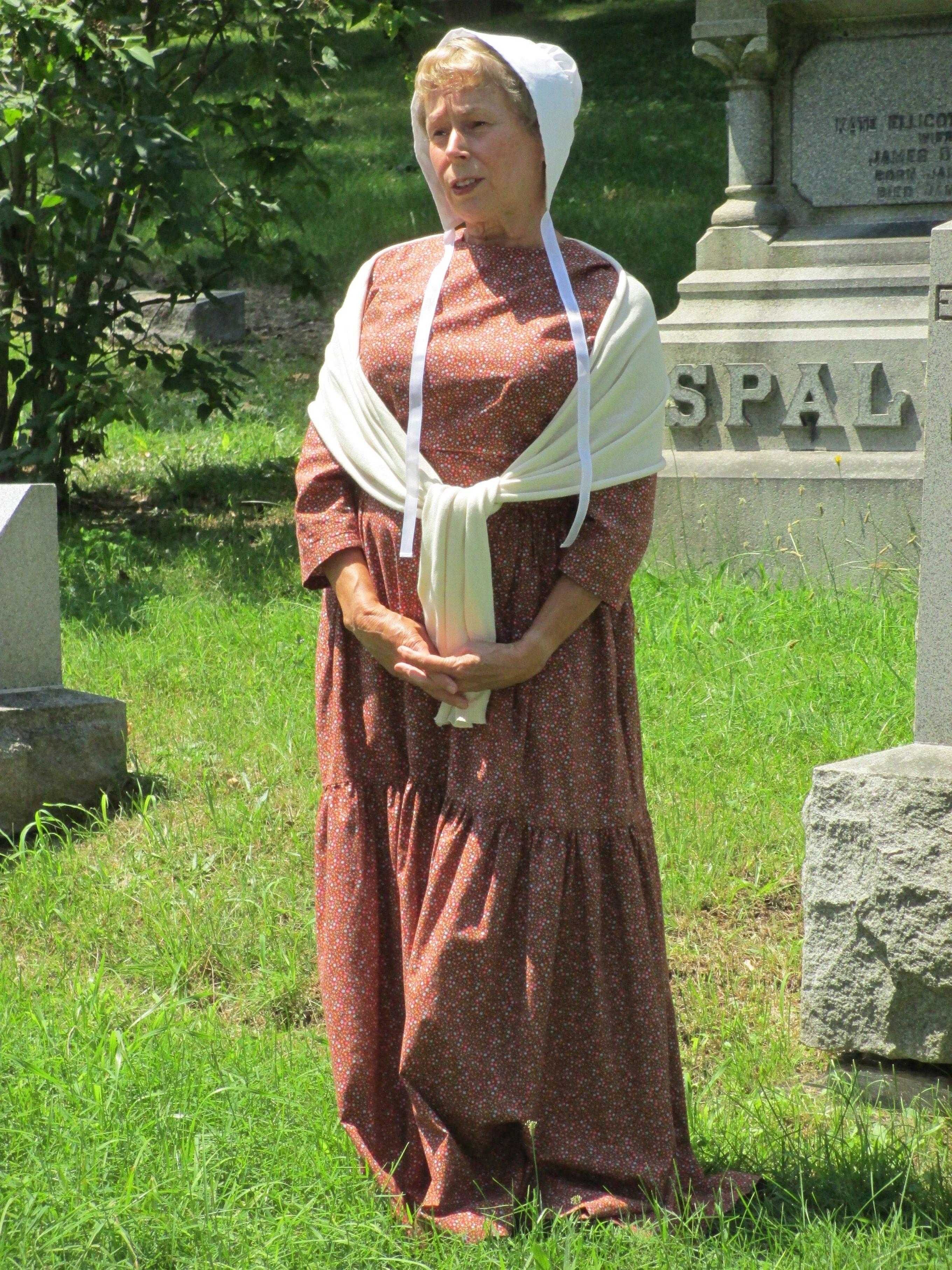 Carol Caisse will be among the re-enactors for the Niagara History Center event.