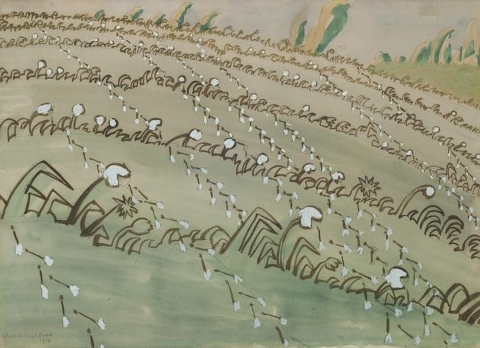Charles E. Burchfield had a lifelong fascination with wildflowers.