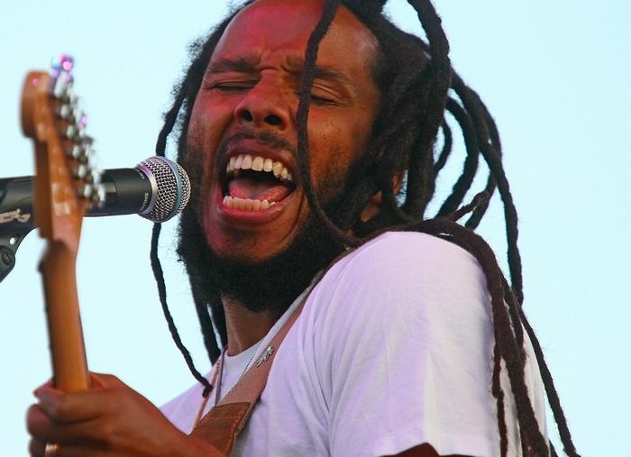 Ziggy Marley performs at Artpark on Wednesday.  (Robert Kirkham/Buffalo News file photo)