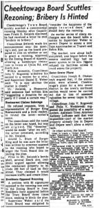 05 aug 1969 cheektowaga bribery