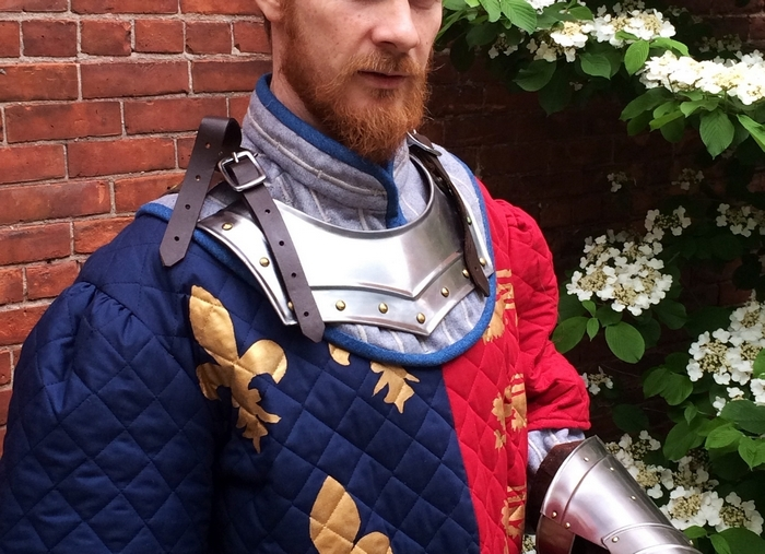 "Patrick Moltane plays the title role in Shakespeare in Delaware Park's production of ""Henry V."""