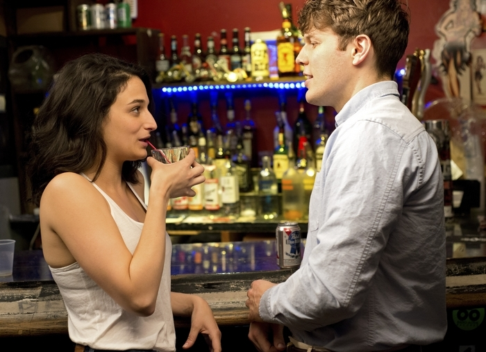 Jenny Slate and Jake Lacy star in 'Obvious Child.'