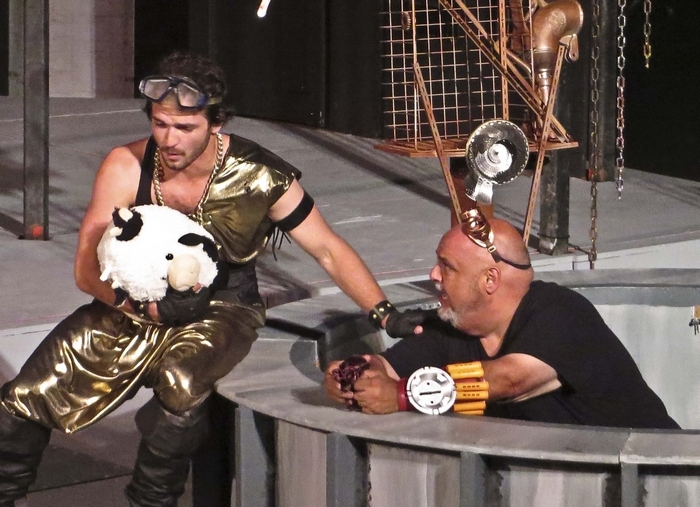 "Nathan Winkelstein and Norman Sham star in Shakespeare in Delaware Park's production of ""The Comedy of Errors."""