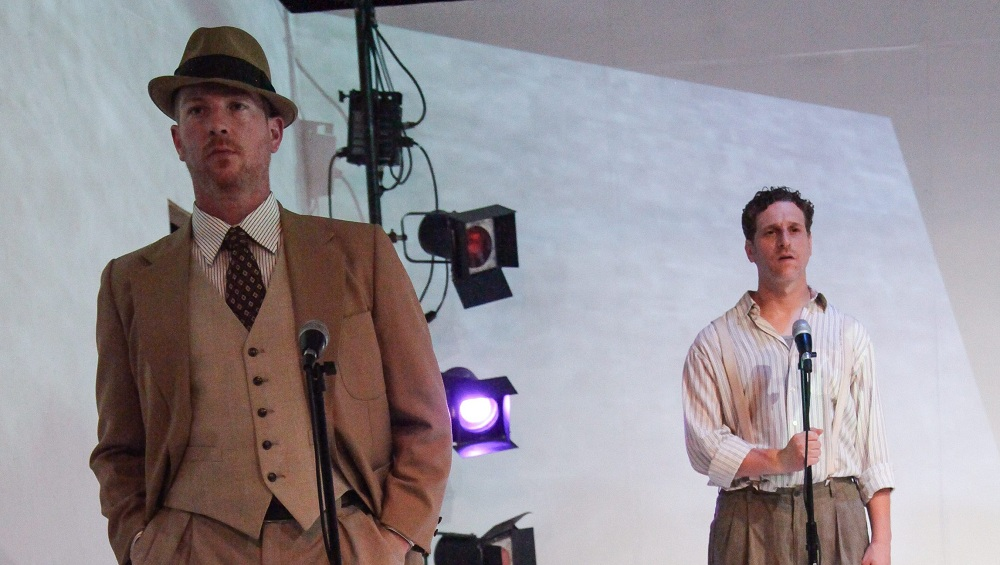 """James Heffron and Andrew Kottler star in Torn Space Theater's production of """"Detour"""""""