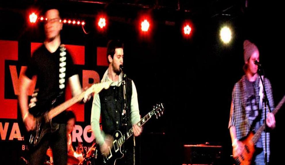 Buffalo band Thundercloud Kid plays pop-punk mixed with a post-hardcore sensibility.
