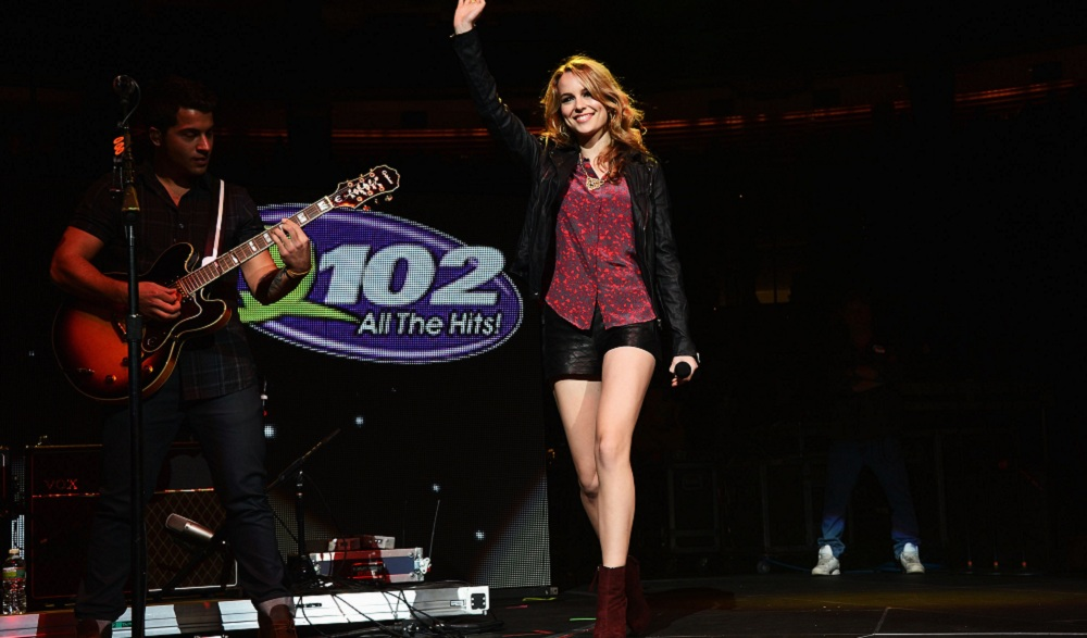 Disney star turned solo artist Bridgit Mendler is a Saturday highlight at the Erie County Fair. (Getty Images)