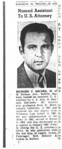 18 aug 1969 richard arcara