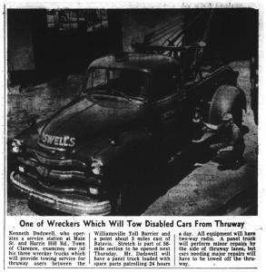 19 aug 1954 thruway wrecker