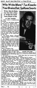 20 aug 1954 spillane races at rock pile