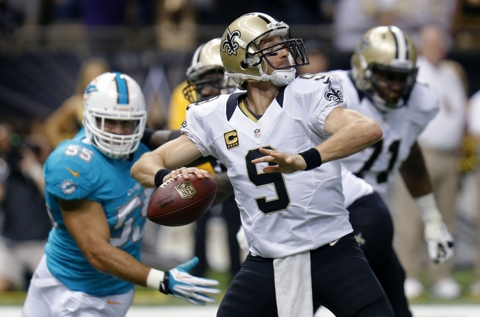 Mark Gaughan is predicting a super season for Drew Brees and the New Orleans Saints. (Associated Press)