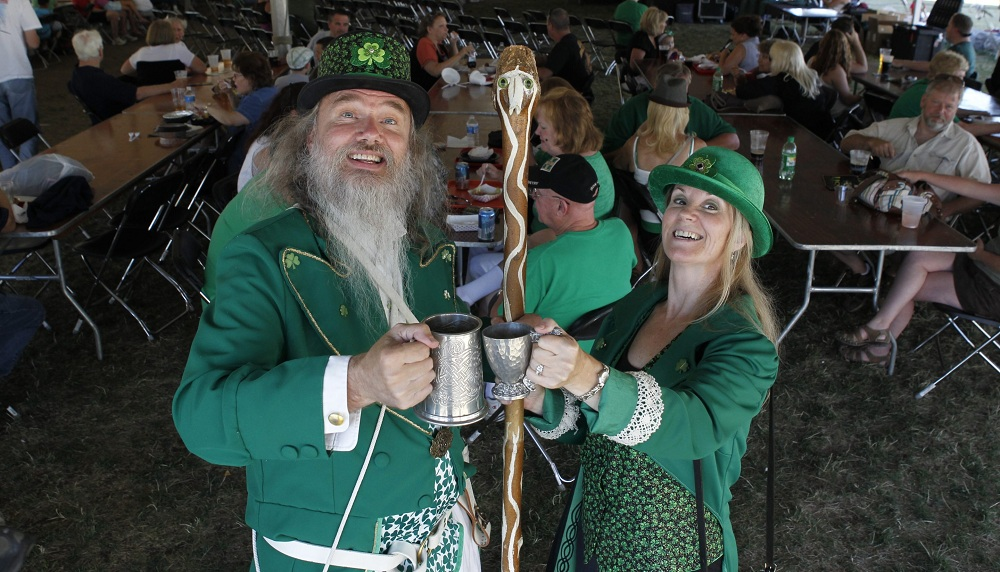 One of the premier cultural festivals held locally, the Buffalo Irish Festival doesn't have to stay up all night to get lucky. (Harry Scull Jr. / Buffalo News file photo)