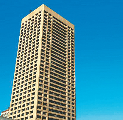 The One Seneca Tower, Buffalo's tallest building, is now assessed at $22 million.