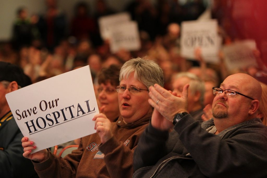 In January, residents packed the Silver Creek High School auditorium for a rally to save Lake Shore Health Care Center.