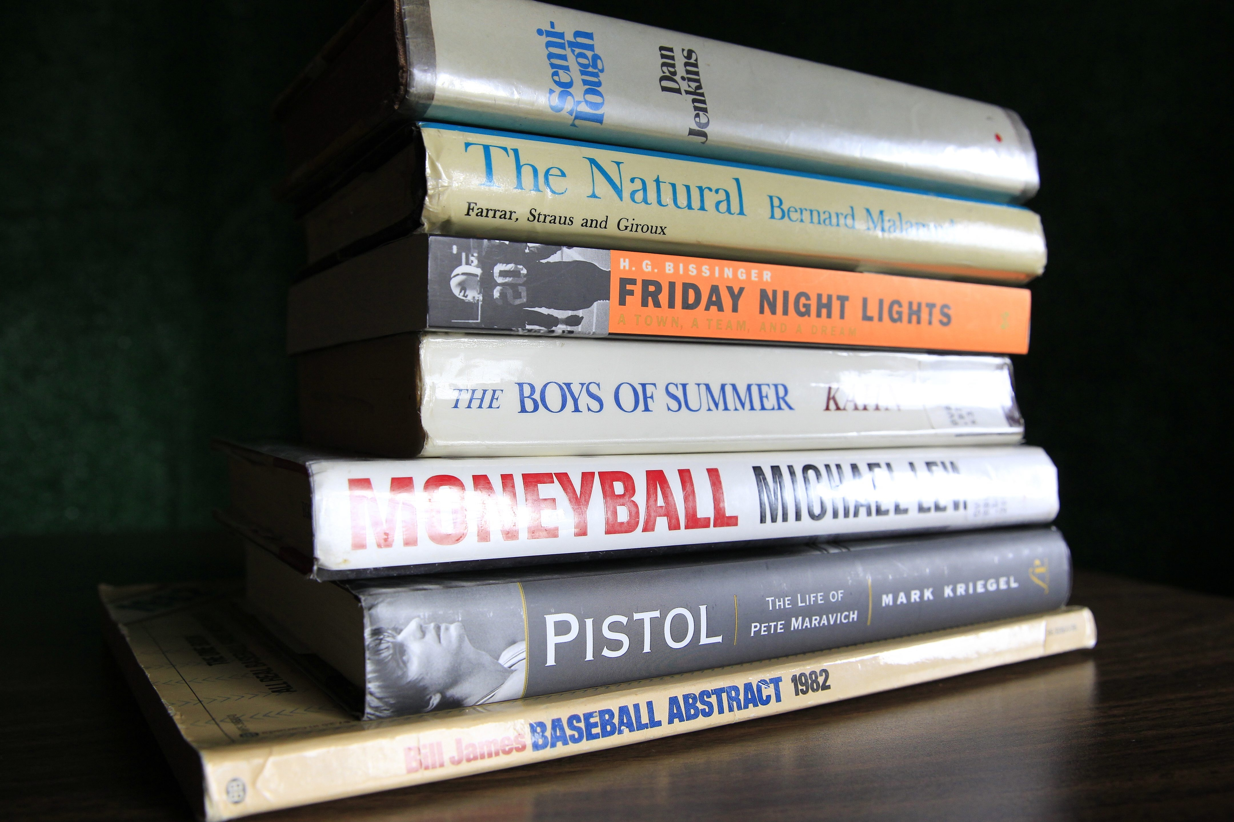 Sports media types have come up with a wide-ranging list of sports books that have inspired them in one way or anothers.