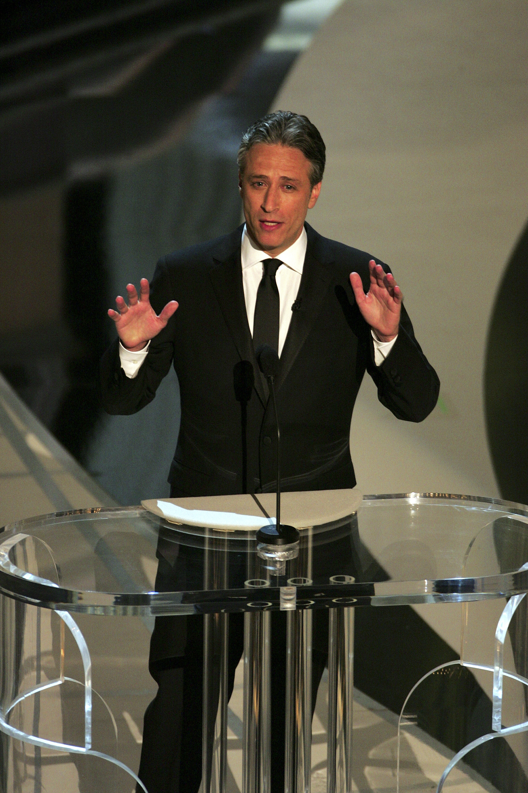 "Jon Stewart of ""The Daily Show"" reportedly is earning $25 million to $30 million a year."