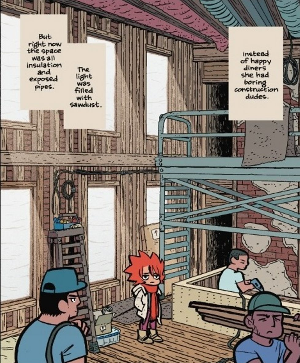 "Bryan Lee O'Malley conjures up this year's most likable, identifiable heroine in his epic new graphic novel, ""Seconds."""