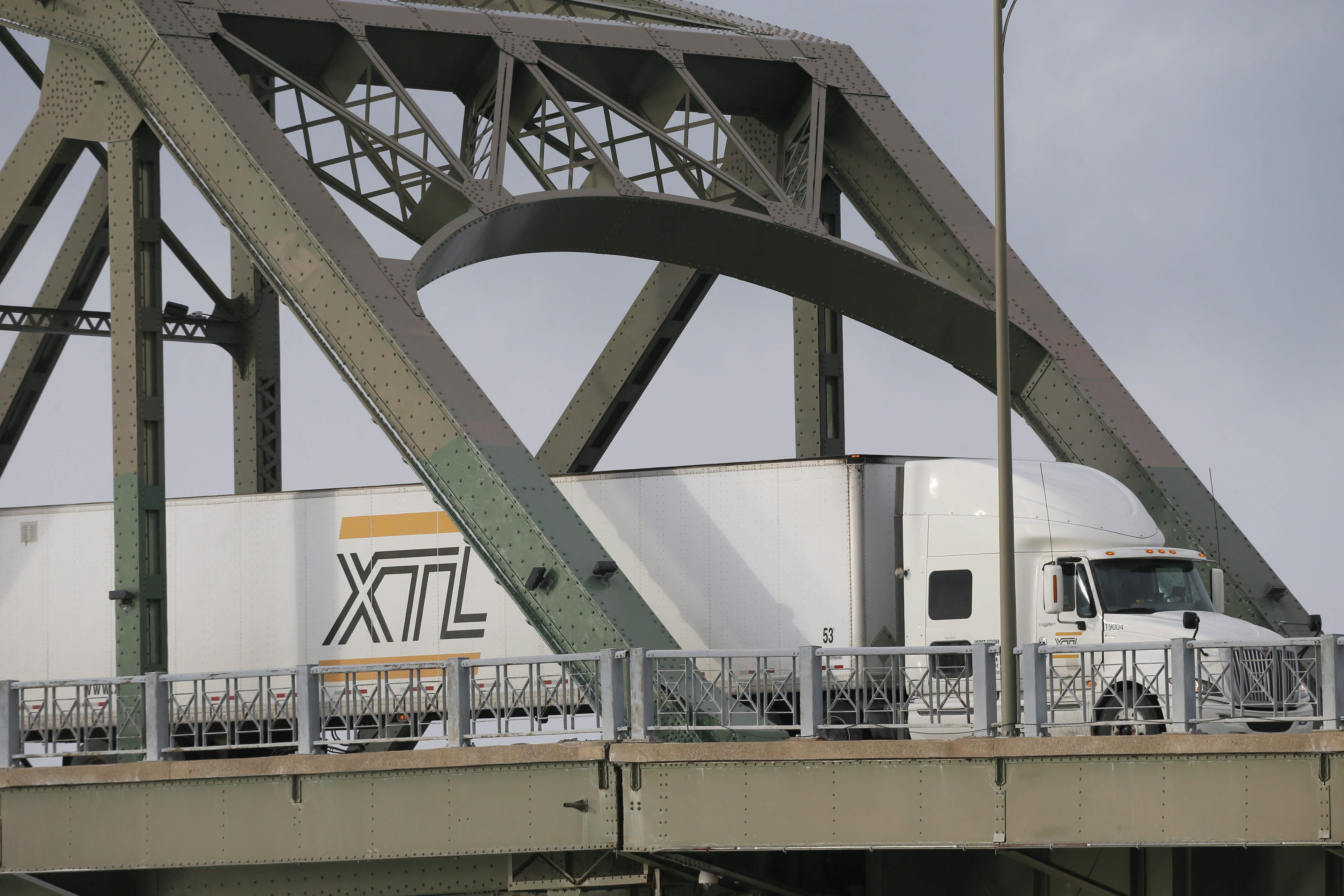 Inspection of commercial trucks in Fort Erie will make delays on the bridge less likely. (Buffalo News file photo)