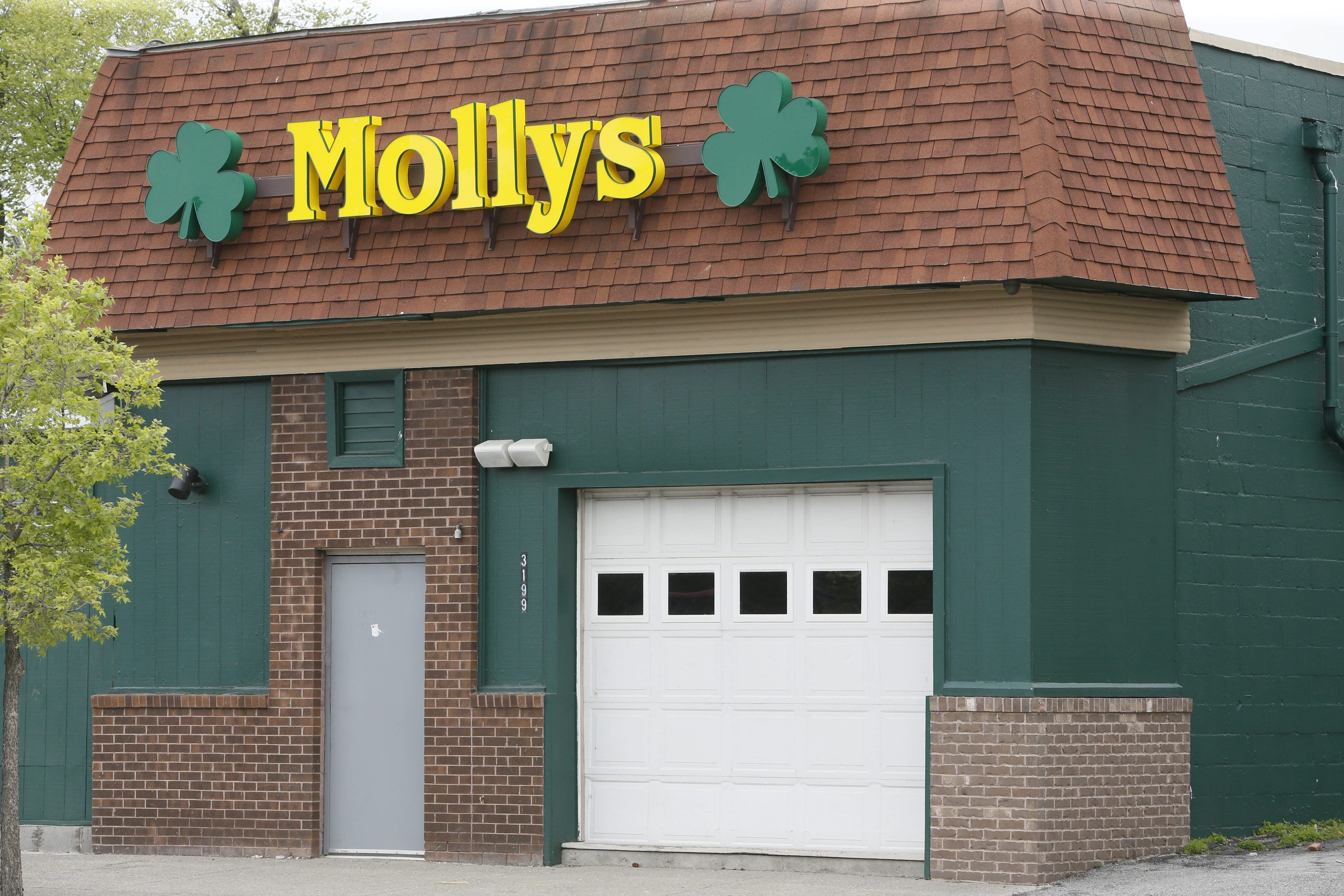 Molly's on Main Street, where Air National Guardsman William C. Sager Jr. was pushed down a flight of stairs May 11. He died July 31.