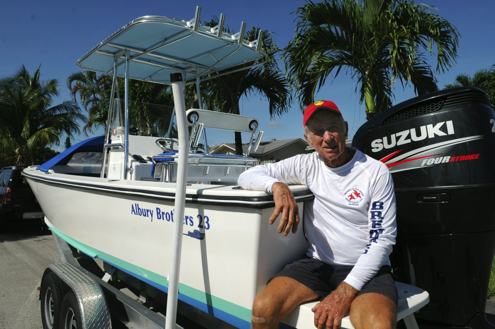Tom Dwyer is an avid boater who rents his two Albury Brothers boats through a website called Cruzin.com.