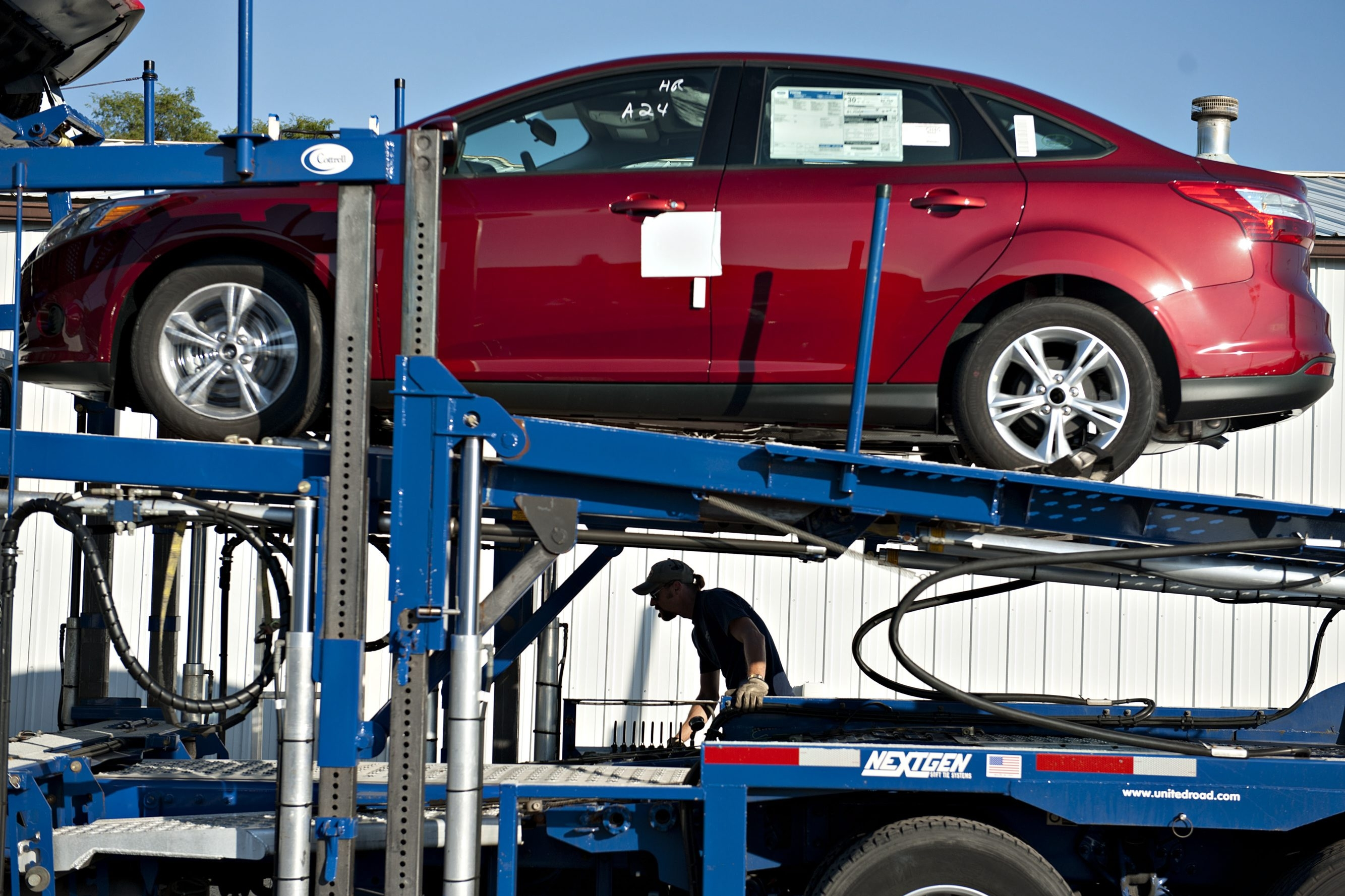 Automakers like Ford and Toyota are working to ensure their supply chain runs as efficiently as possible in order to avoid wasted time and cost.