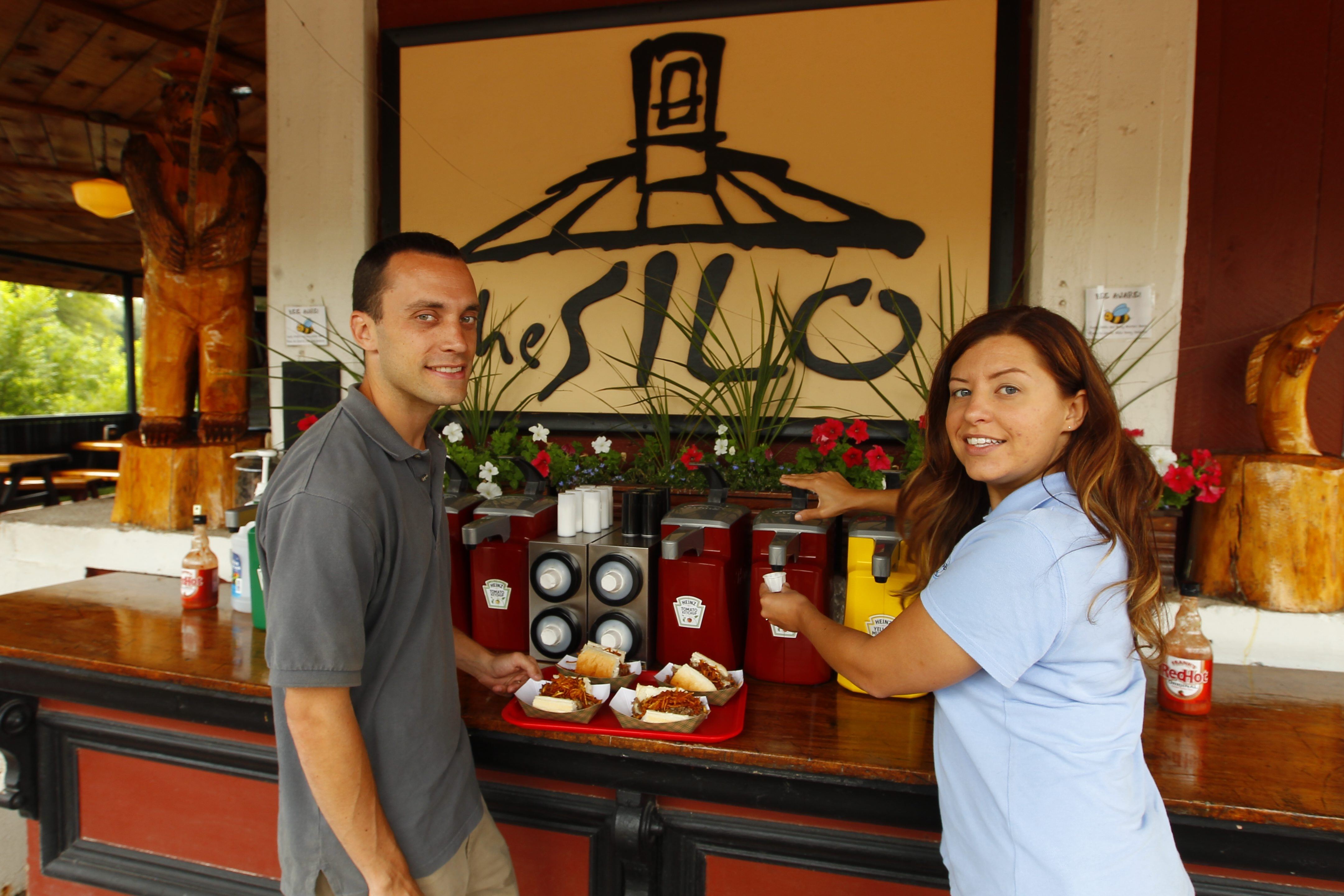 Chris and Alicia Tepas conduct tour of Lewiston and tastings at popular restaurants for small groups in the village.