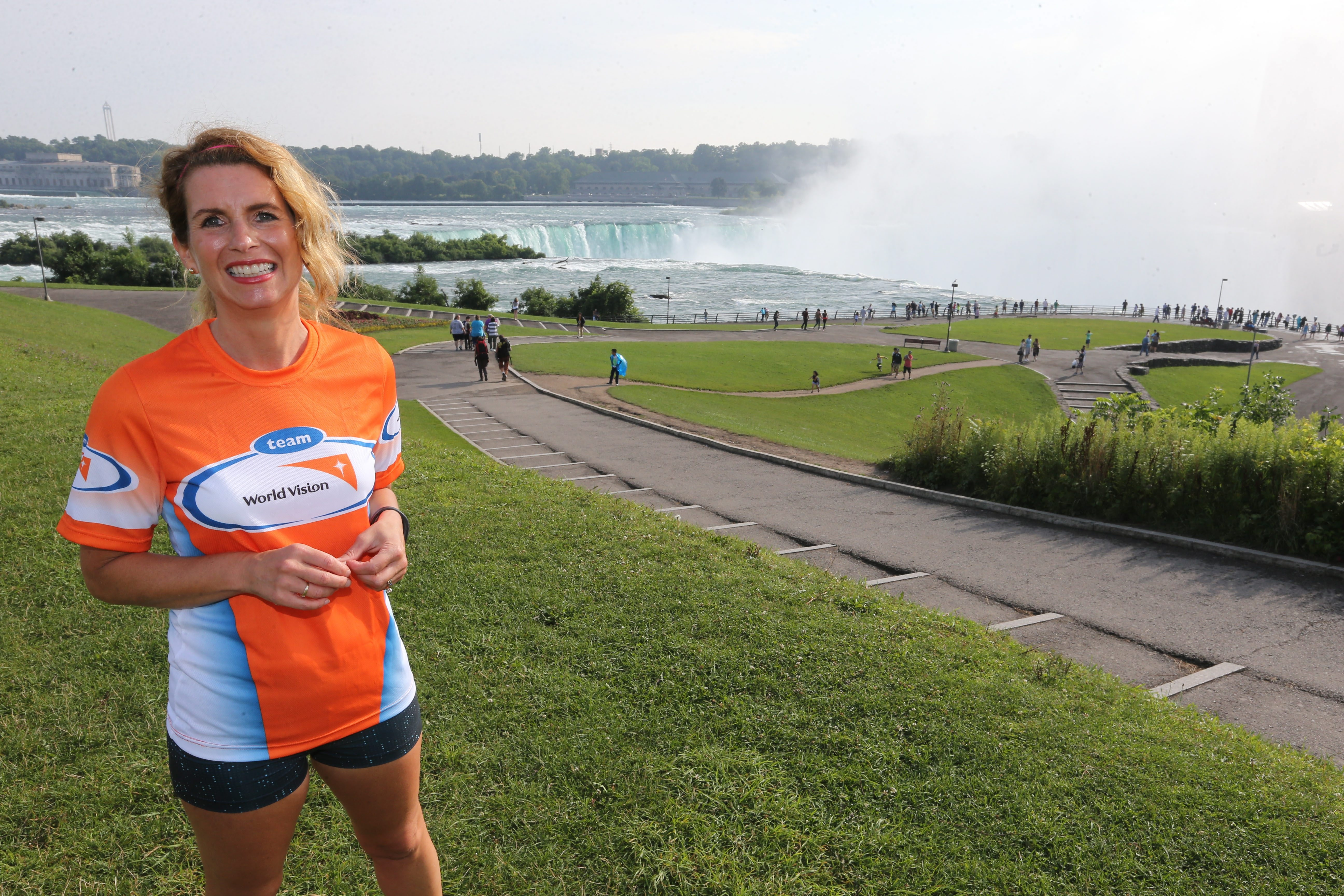 Michele G. Bergevin is running for a cause.