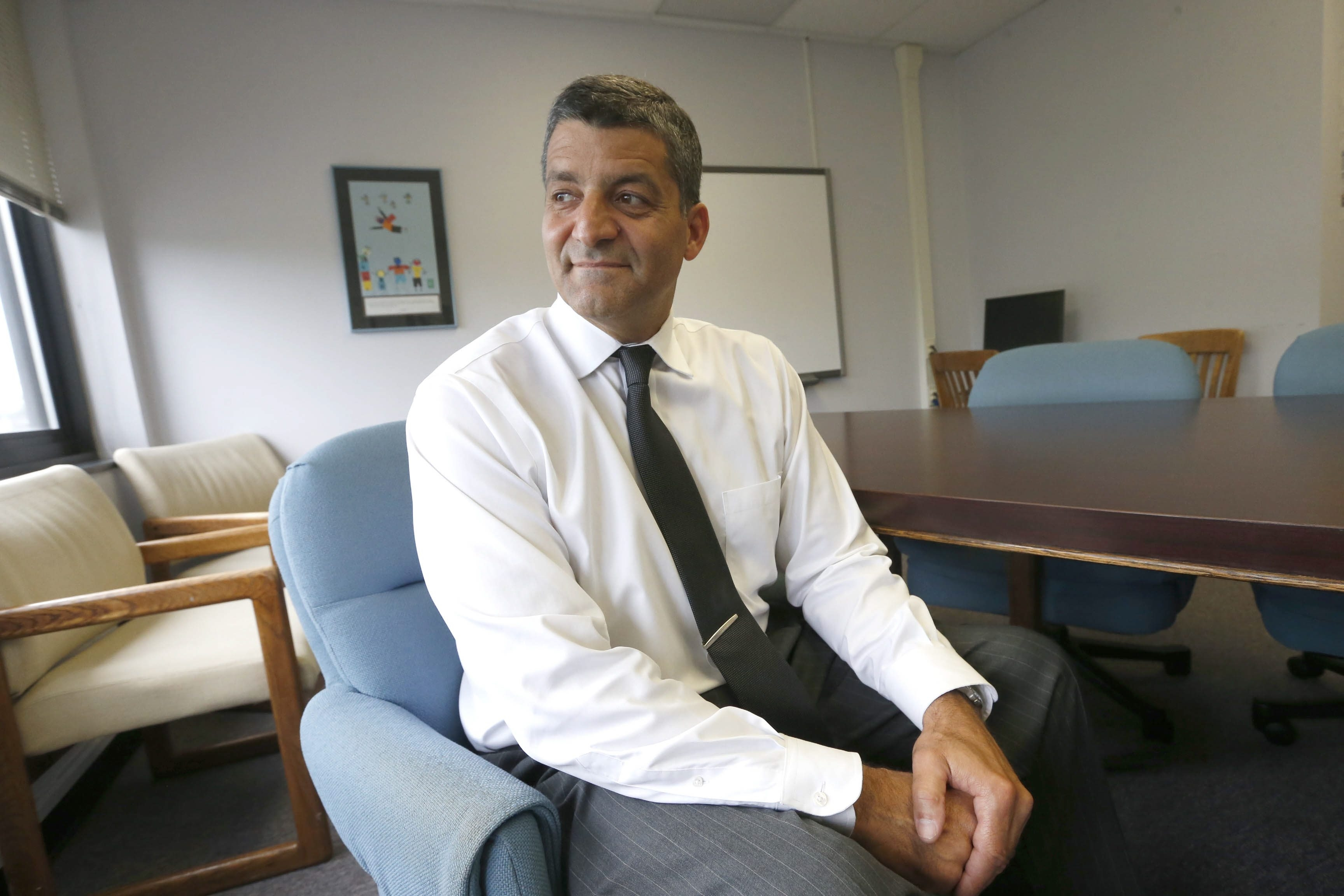 Mark Mondanaro led the Ken-Ton School District through some trying times. (Robert Kirkham/Buffalo News)