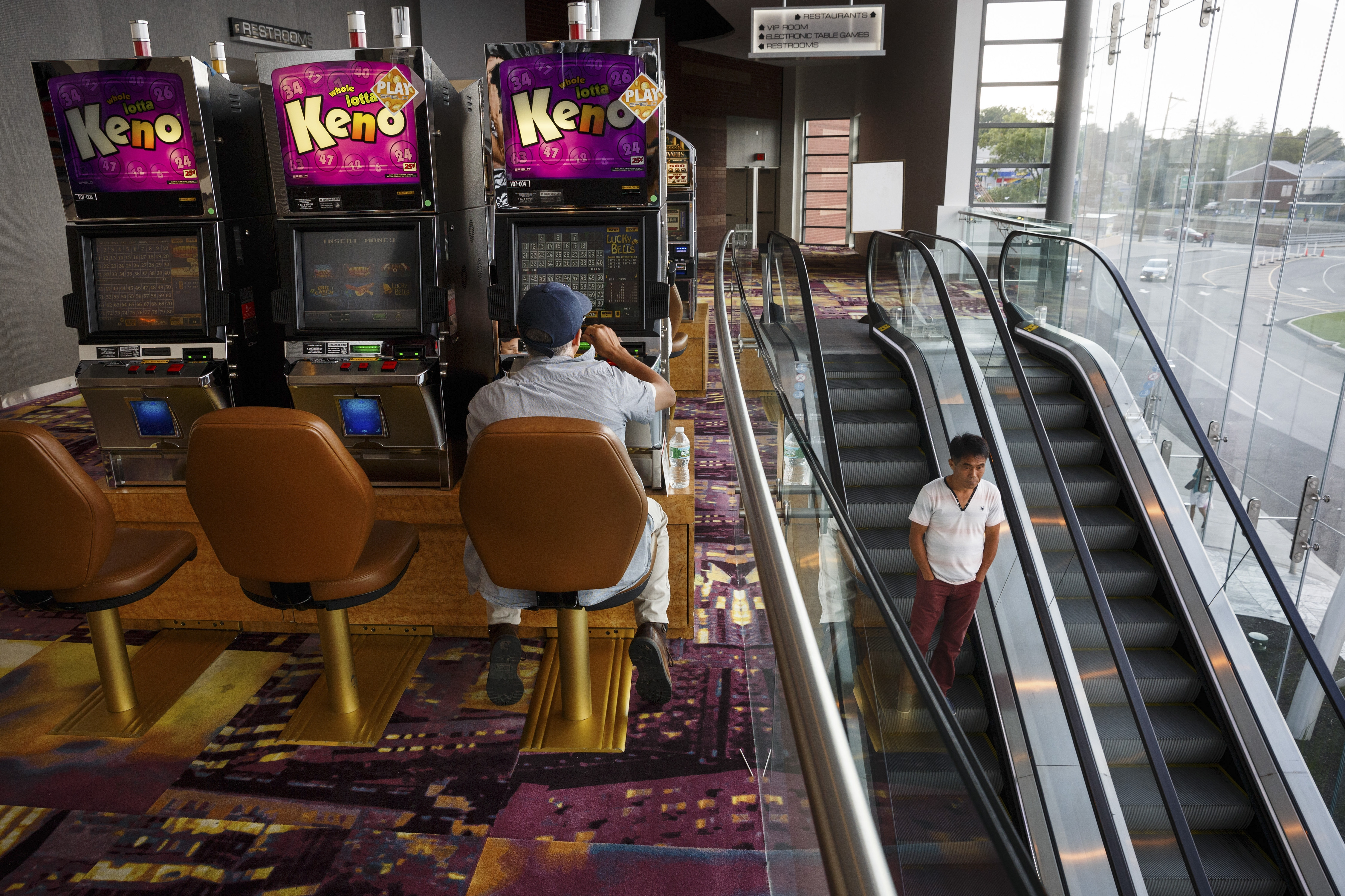 Empire City Casino at Yonkers Raceway is indicative of New York State commitment to the industry, but analysts, economists and casino opera- tors are warning of the effects of fierce competition, if not saturation.