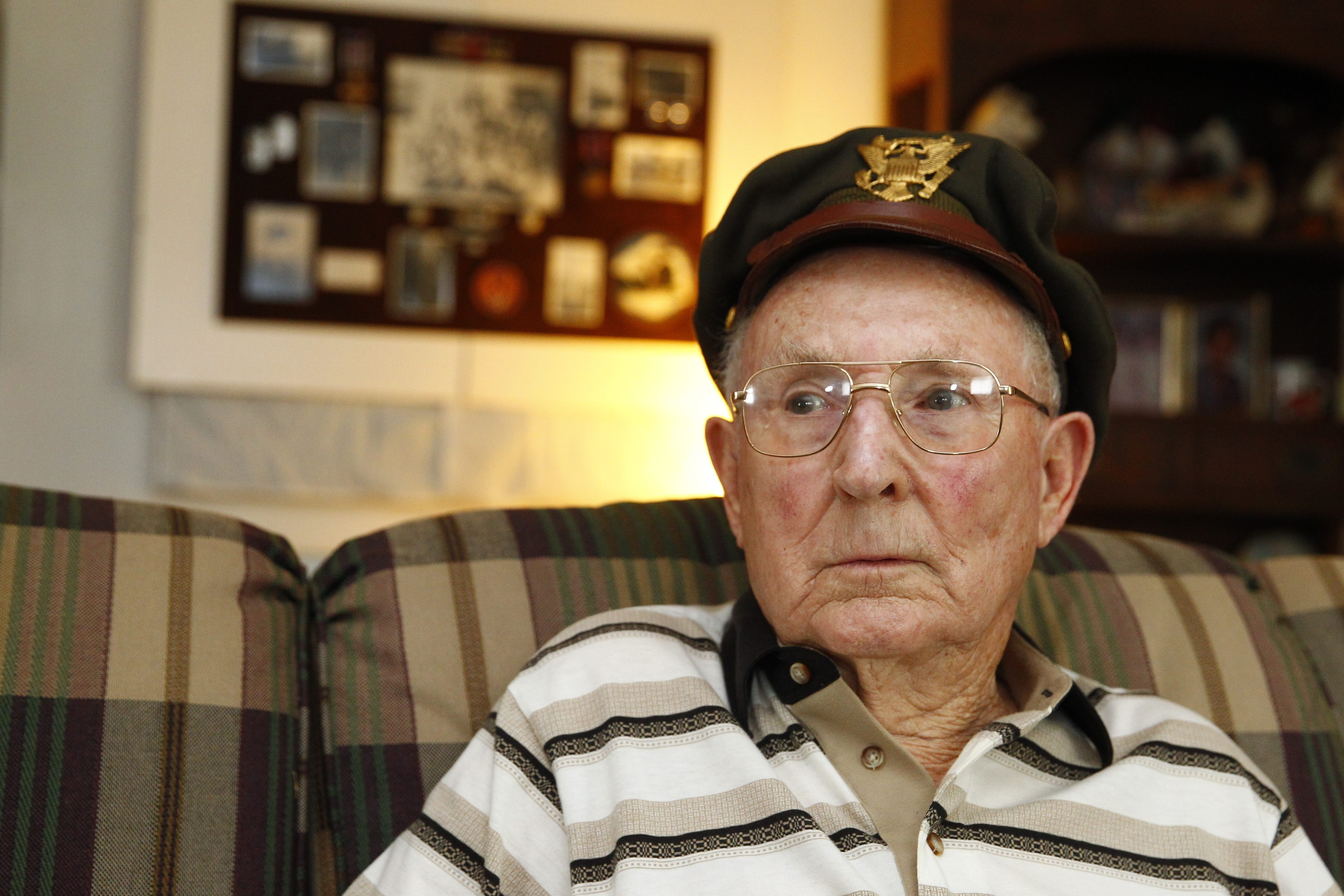 Donald A. Stevens remembers dodging anti-aircraft fire on war's last bombing run at key oil refinery – on his birthday.