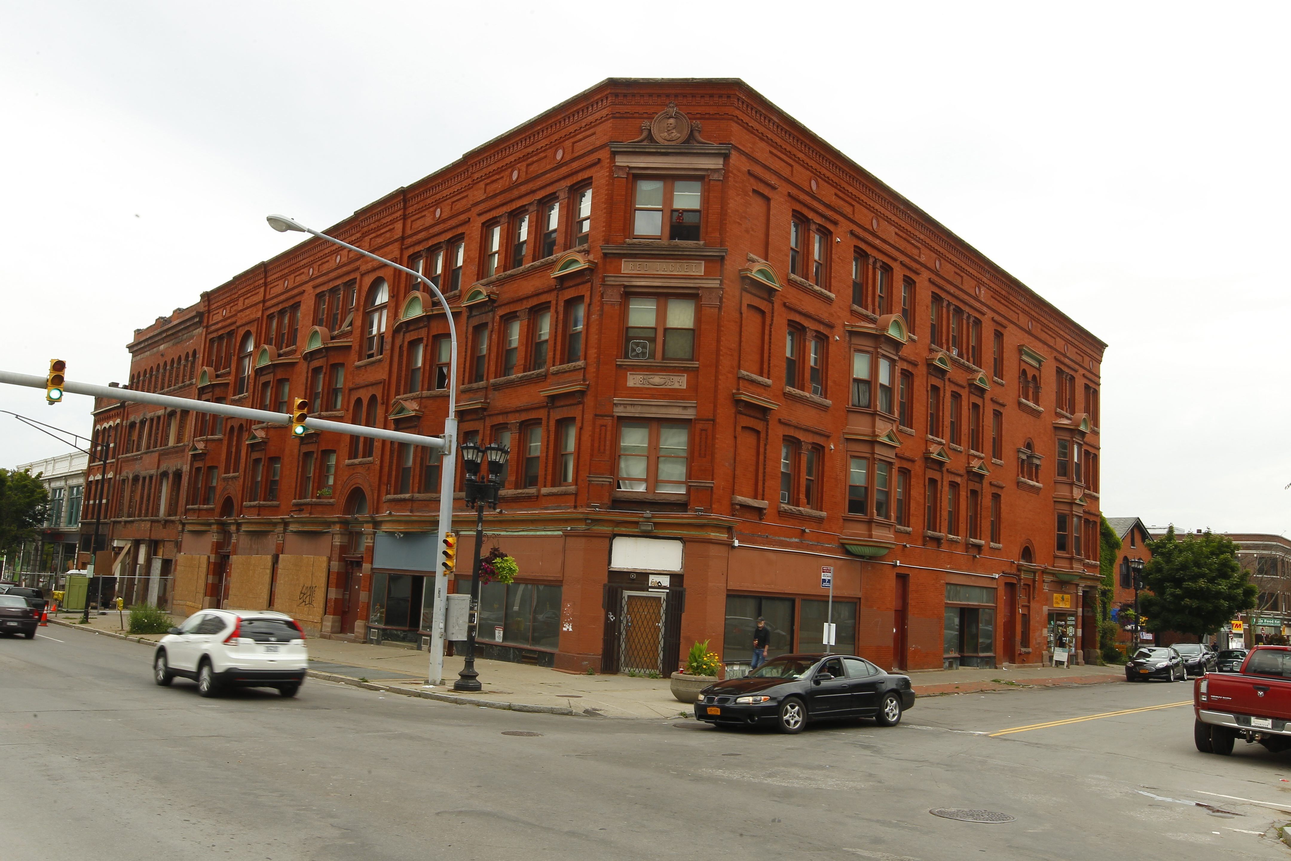 The Red Jacket Building, at the corner of Main and Allen streets, has been sold and will contain residential units.