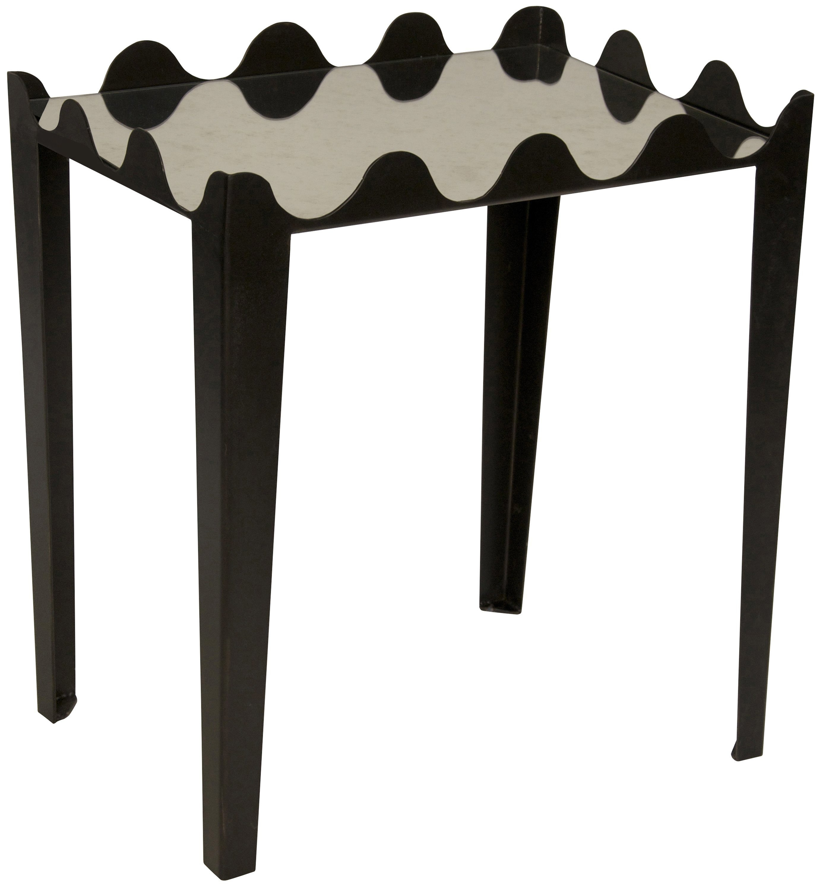 New designs from the Las Vegas summer furniture market include the Swelle Side Table. (MCT)