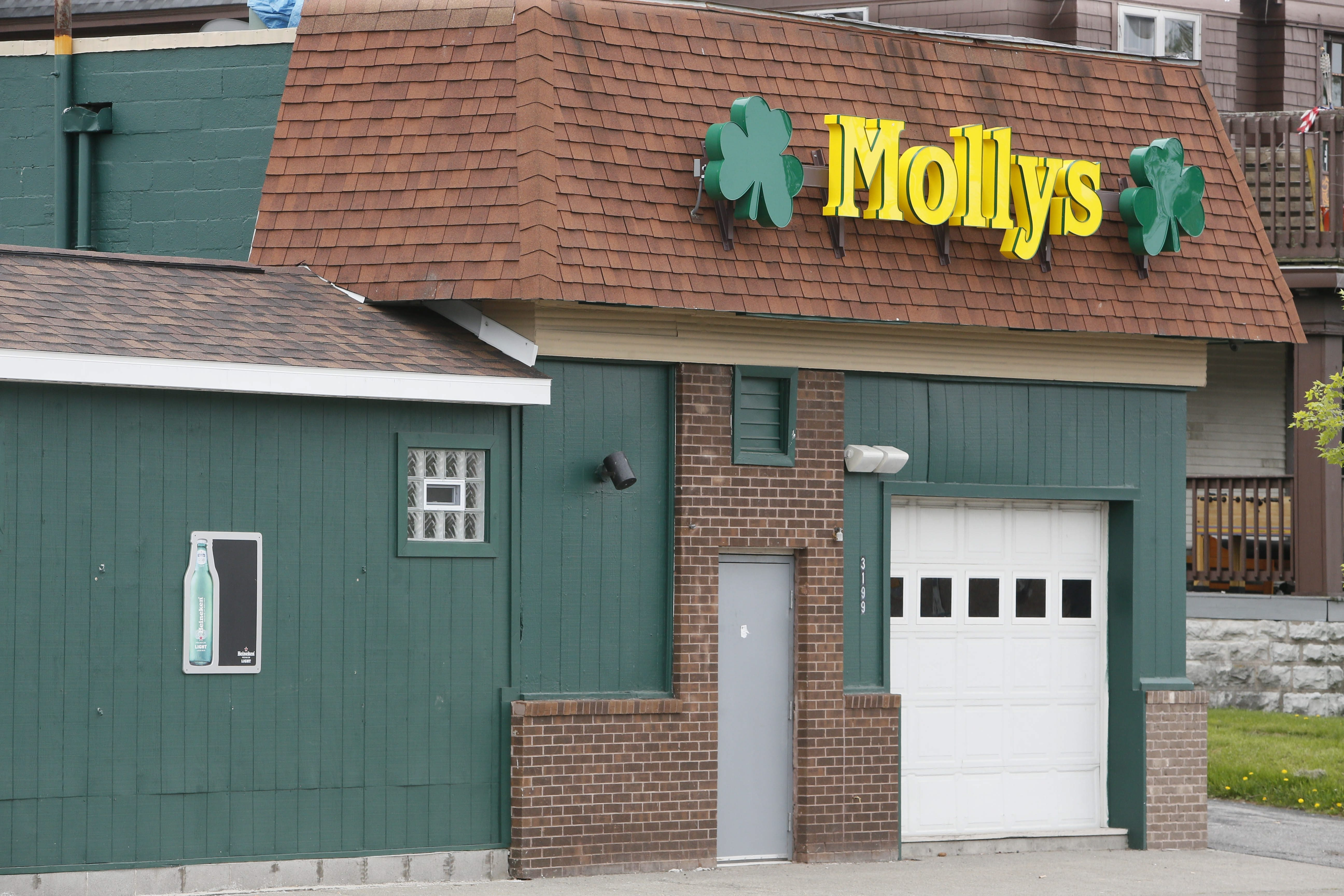 Mollys on Main Street, where an Air National Guardsman was left in a coma after being assaulted in May. He died Thursday. (Buffalo News)