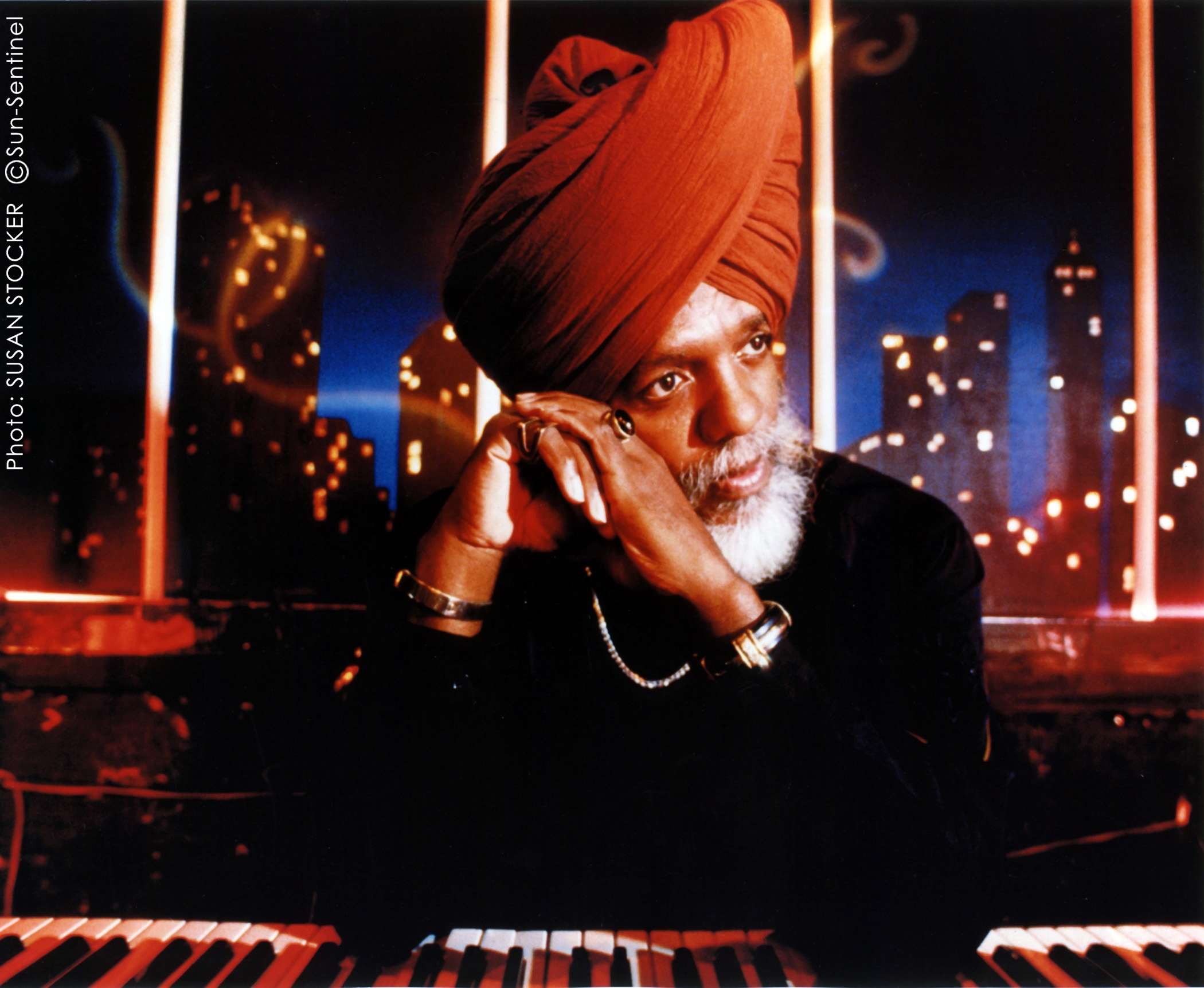 Dr. Lonnie Smith performs Sunday in the Pine Grill Reunion.