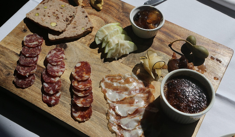 Dustin Murphy's charcuterie skills means you'll still be able to find the charcuterie plate, pictured here, at Tabree. (Charles Lewis / Buffalo News file photo)
