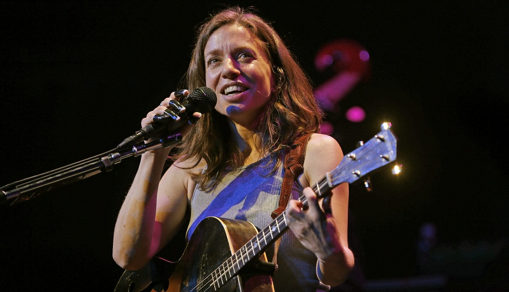 Ani DiFranco, pictured performing at Babeville in May, will release a new album on Oct. 14. (Robert Kirkham / Buffalo News file photo)