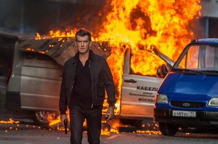 "Pierce Brosnan stars in the new thriller ""The November Man."""