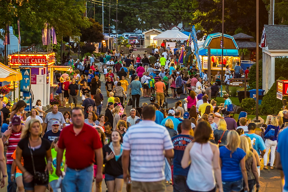 No shortage of interest in the Erie County Fair again this year. (Don Nieman / Special to the News)