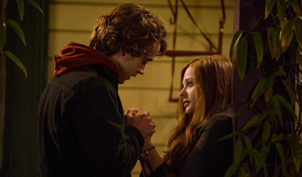 "Jamie Blackley, left, and Chloë Grace Moretz star in the new drama ""If I Stay."""