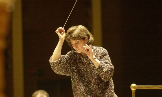 JoAnn Falletta of the Buffalo Philharmonic Orchestra. (Robert Kirkham/Buffalo News file photo)