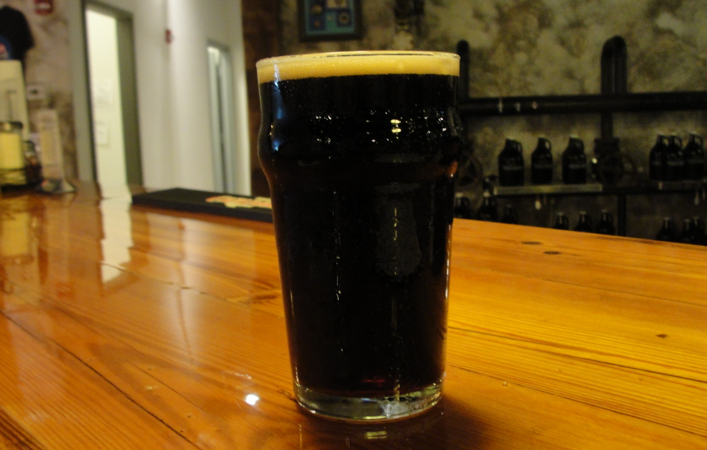 The porter from Woodcock Brothers Brewing Company in Wilson. (Matt Kresconko)