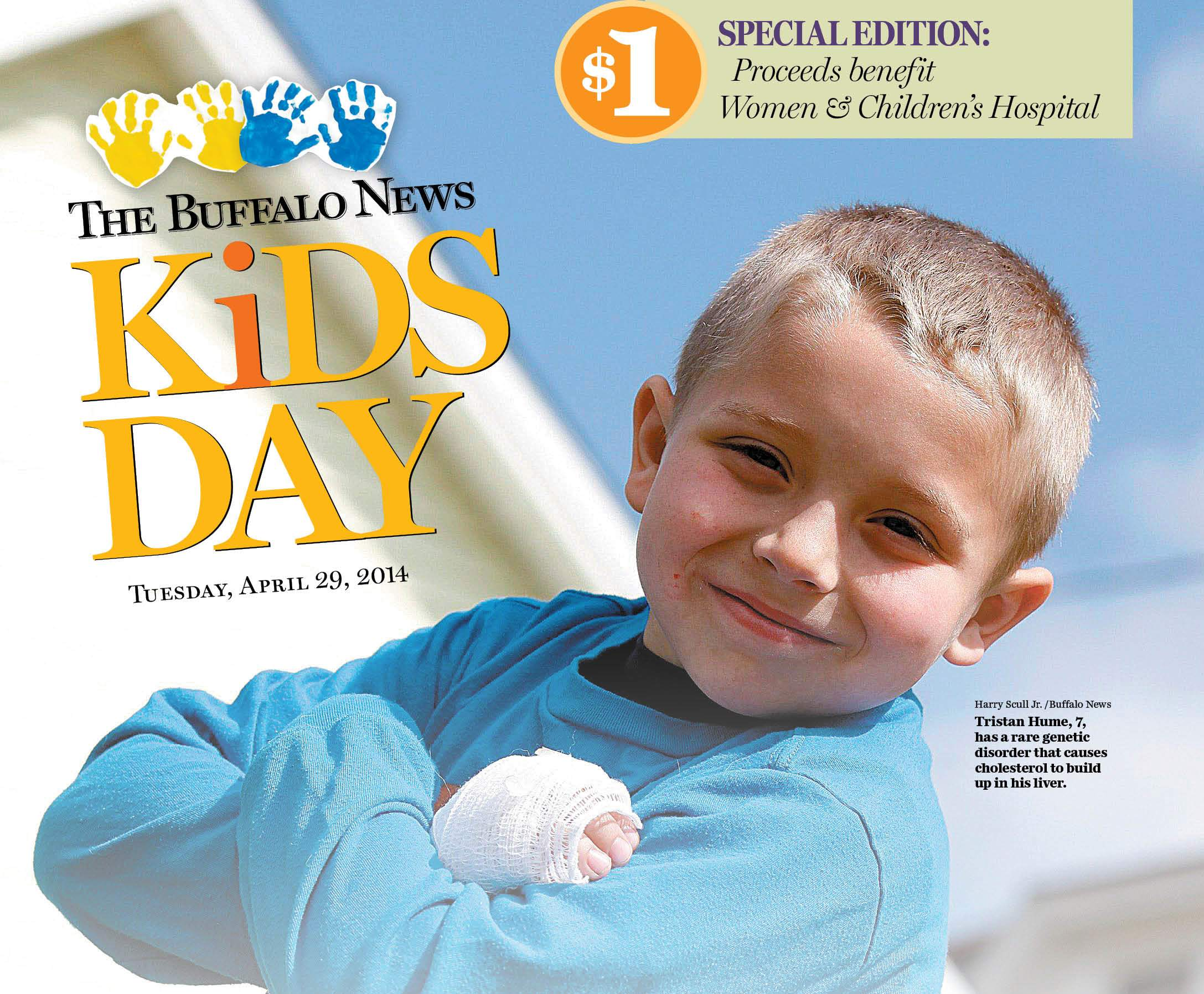 The News' annual Kids Day: Donate, read articles, view images and more
