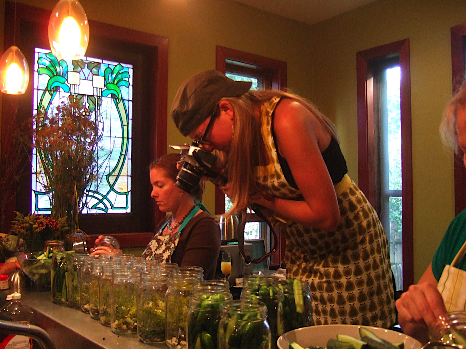 Party pics portray picklers' passion