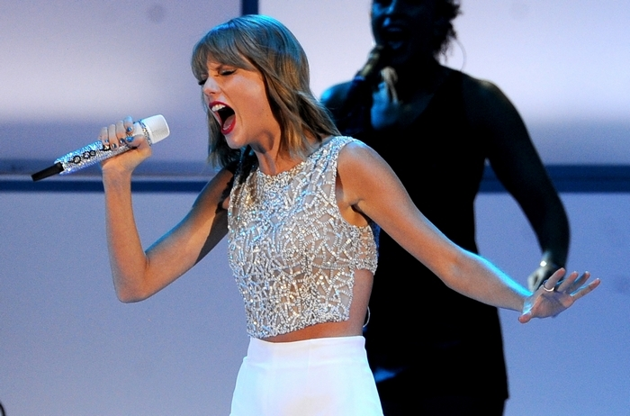 """Taylor Swift's new disc """"1989"""" is now available. (Getty Images)"""