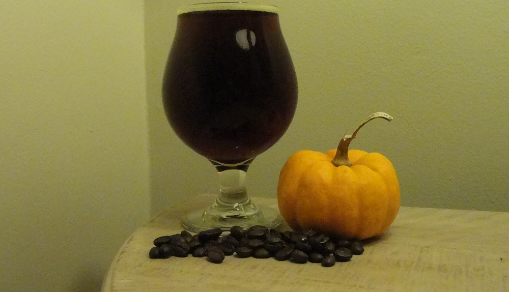 The Vanilla Cappuccino Pumpkin Ale from Resurgence Brewery. (Matt Kresconko / Special to the News)